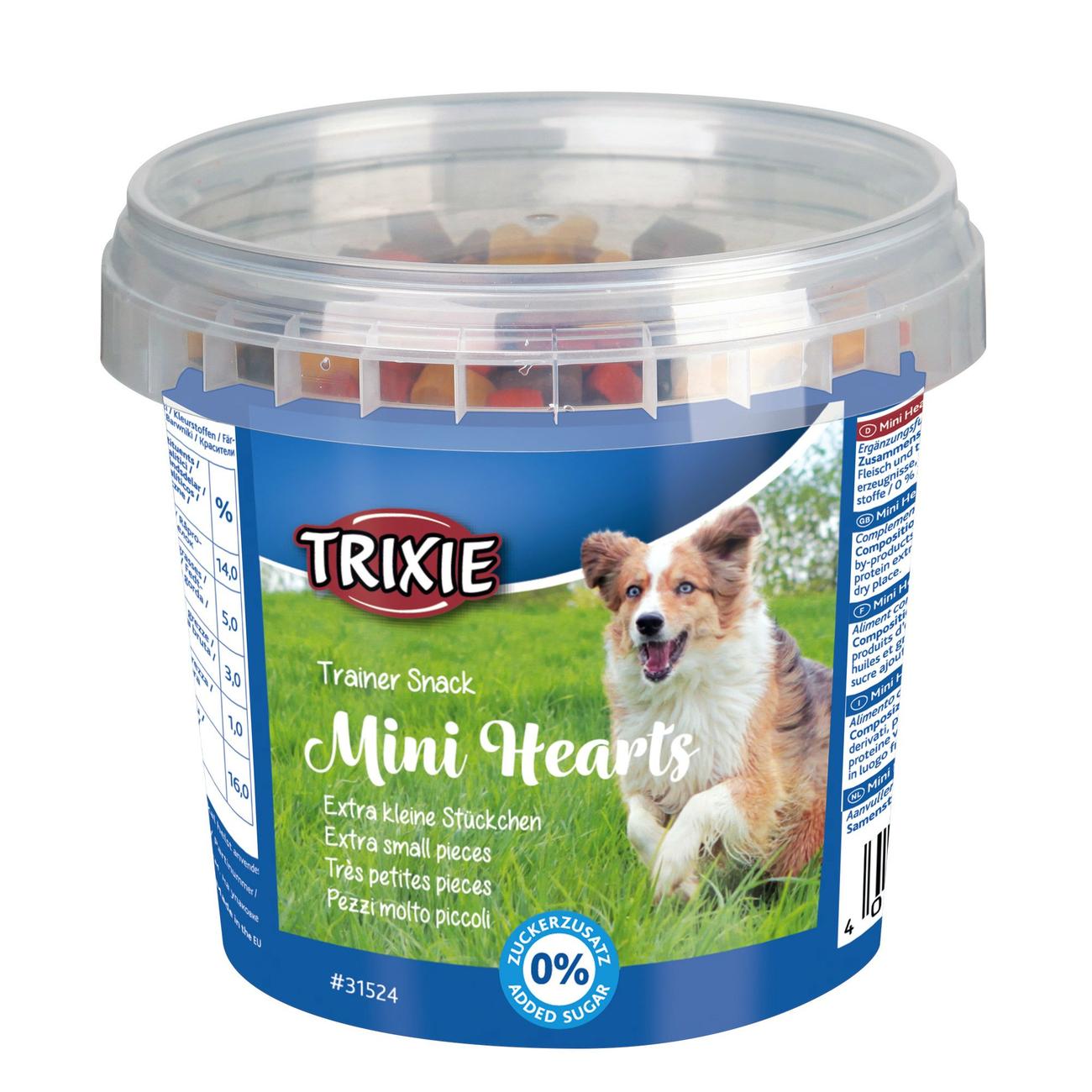 Trixie Trainersnack für Hunde Mini Hearts 31524