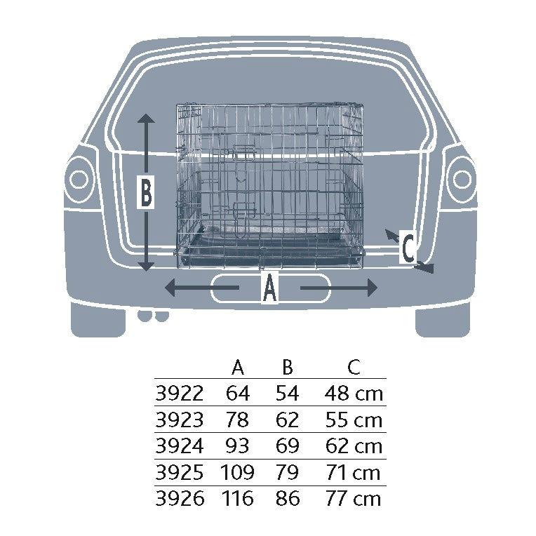 TRIXIE Transportkäfig für Hunde verzinkt 3922, Bild 6