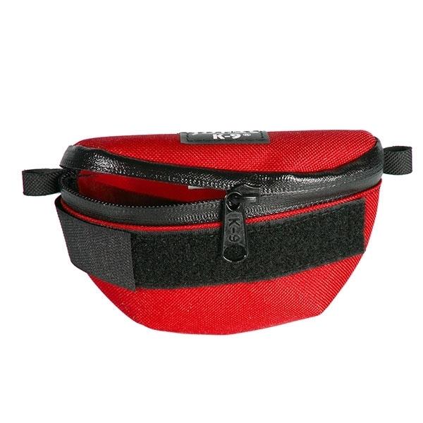 Universal Seitentasche für Julius K9 IDC-Geschirre, Mini bis 4, rot