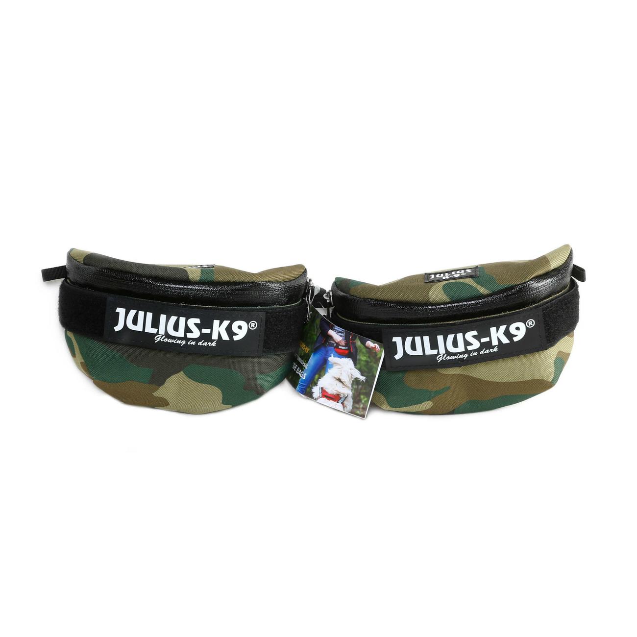 Universal Seitentasche für Julius K9 IDC-Geschirre, Mini bis 4, camouflage