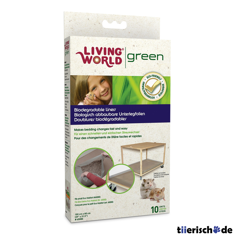 Living World Green Unterlegfolie für Eco Habitat