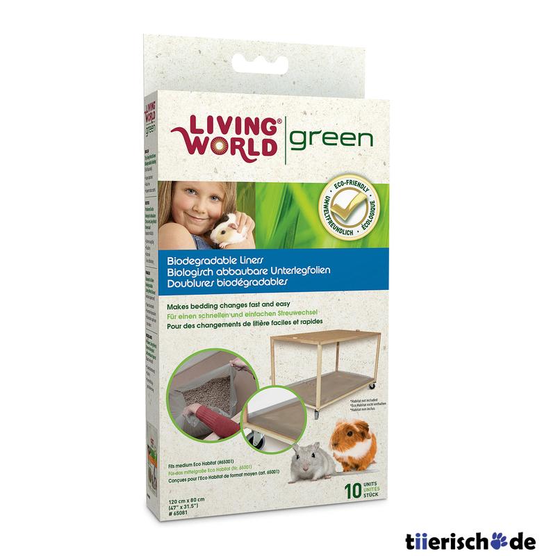 Living World Green Unterlegfolie für Eco Habitat, Bild 2