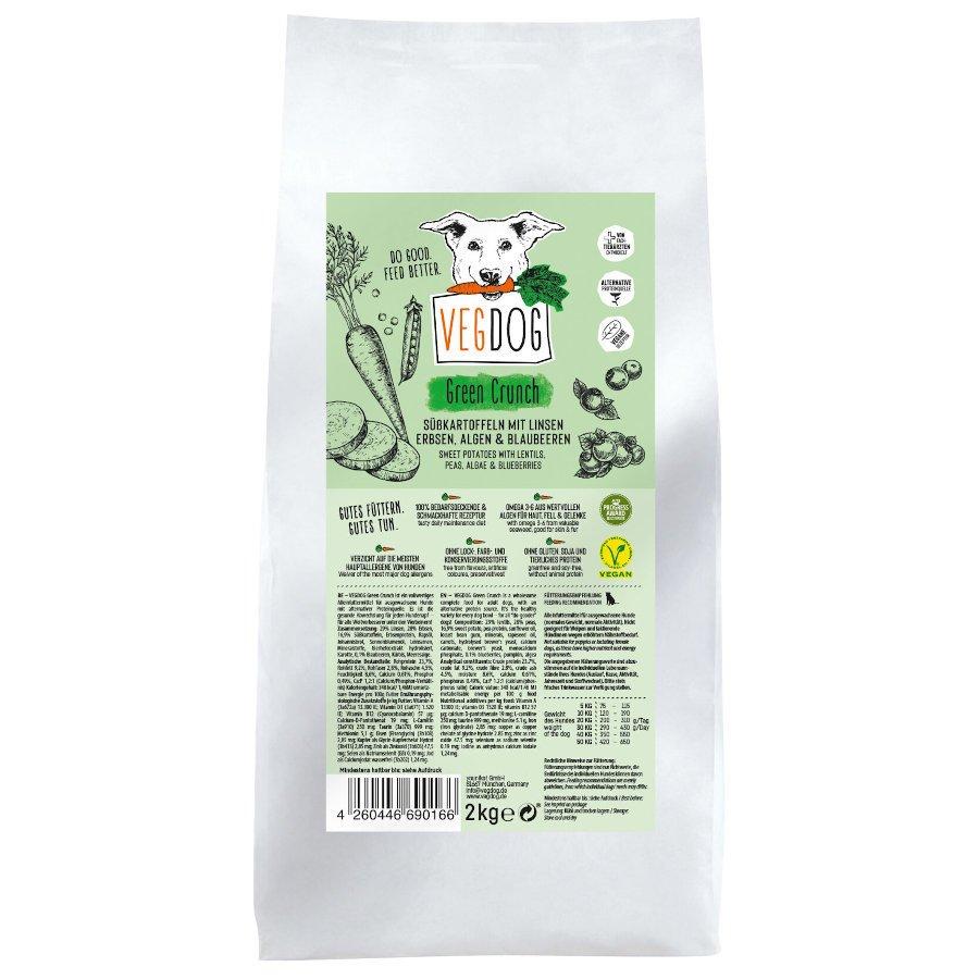 VEGDOG Veggie Crunch veganes Trockenfutter für Hunde, 5 kg