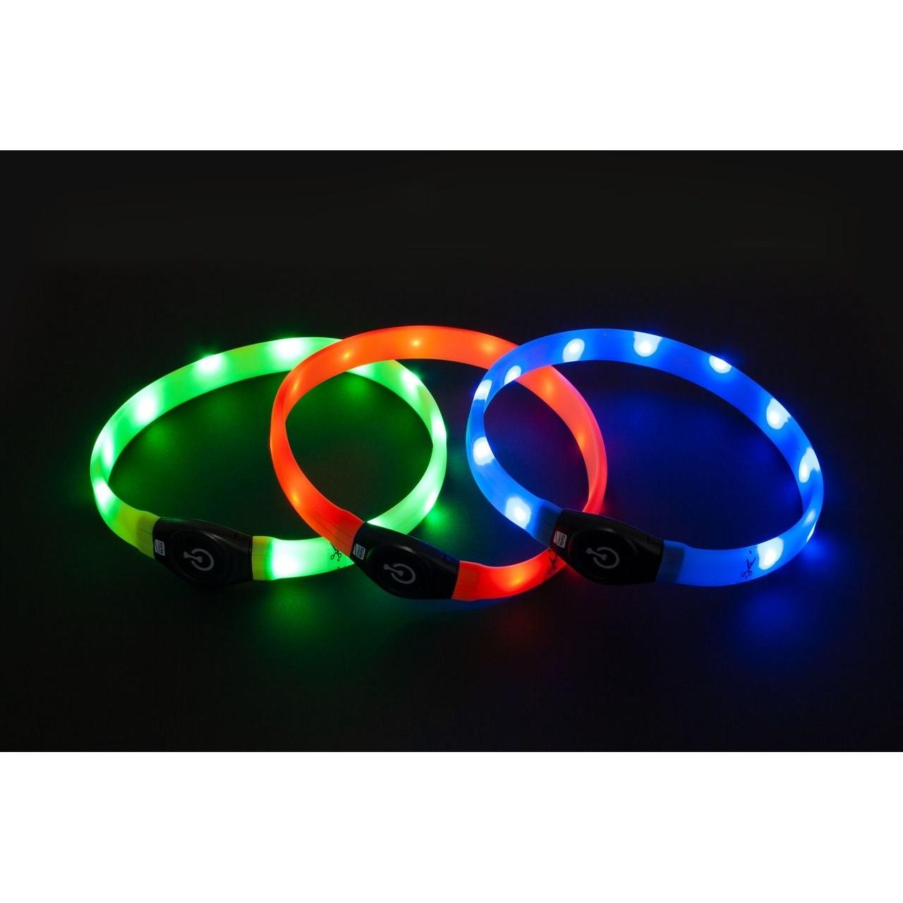 Karlie Visio Light Leuchthalsband LED für Hunde mit Langhaar, Bild 2