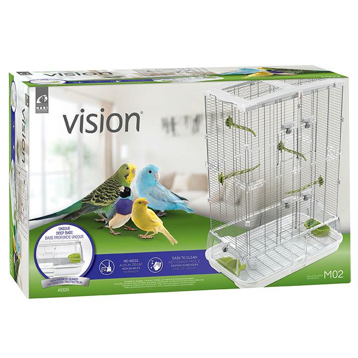 Vision Vogelheim Vogelkäfig M02 - klein hoch, Bild 2
