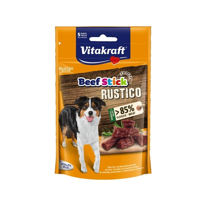 Vitakraft Beef Stick Rustico für Hunde, 55 g