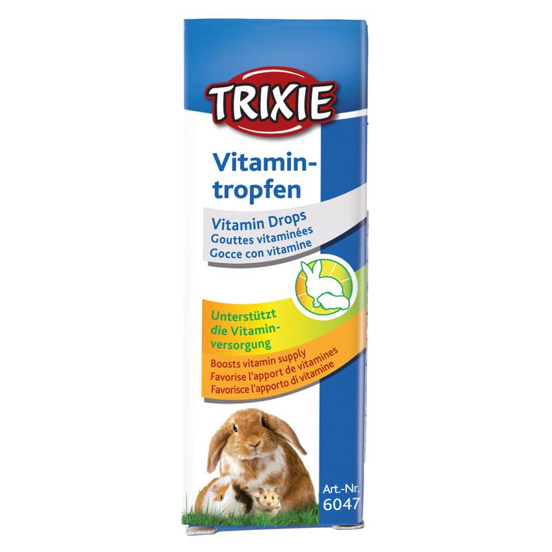 TRIXIE Vitamin-Tropfen für Kleintiere 6047