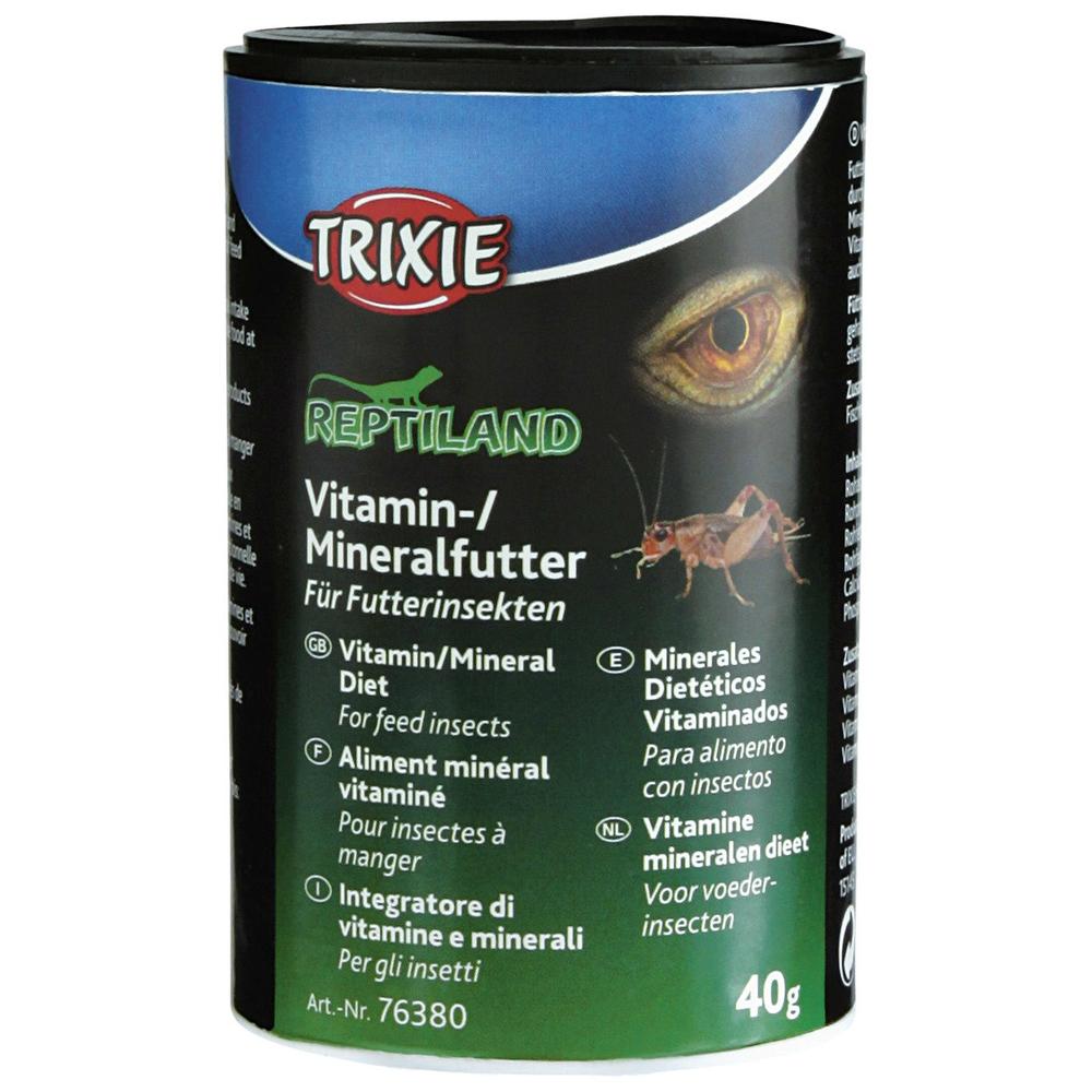 Trixie Vitaminfutter Mineralfutter für Futterinsekten 76380