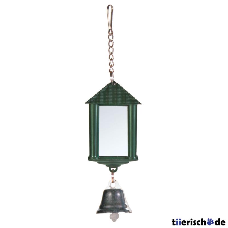 Trixie Vogel Spiegelampel mit Glocke und Kette 5205