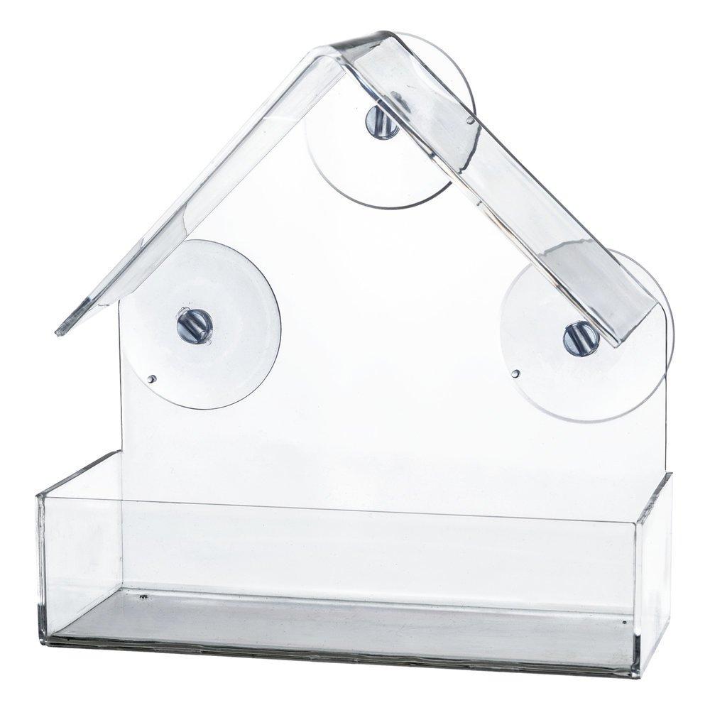 Trixie Vogelfutterhaus für Fensterscheibe, 15 x 15 x 6 cm