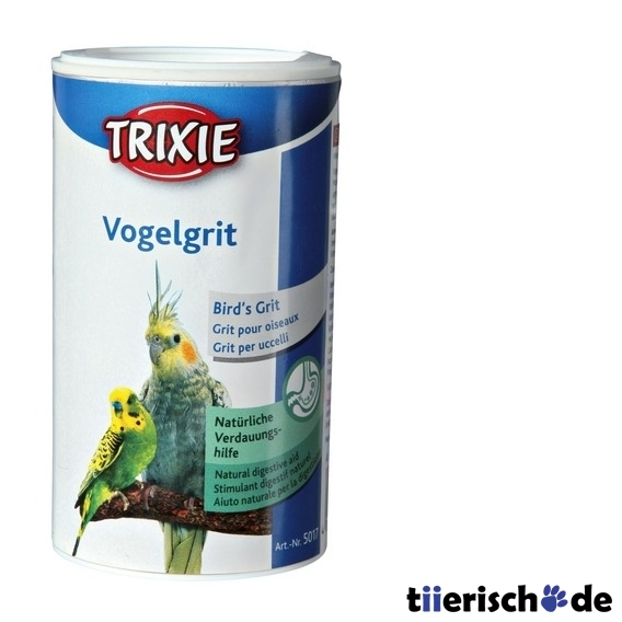 TRIXIE Vogelgrit Futterergänzung für Vögel 5017