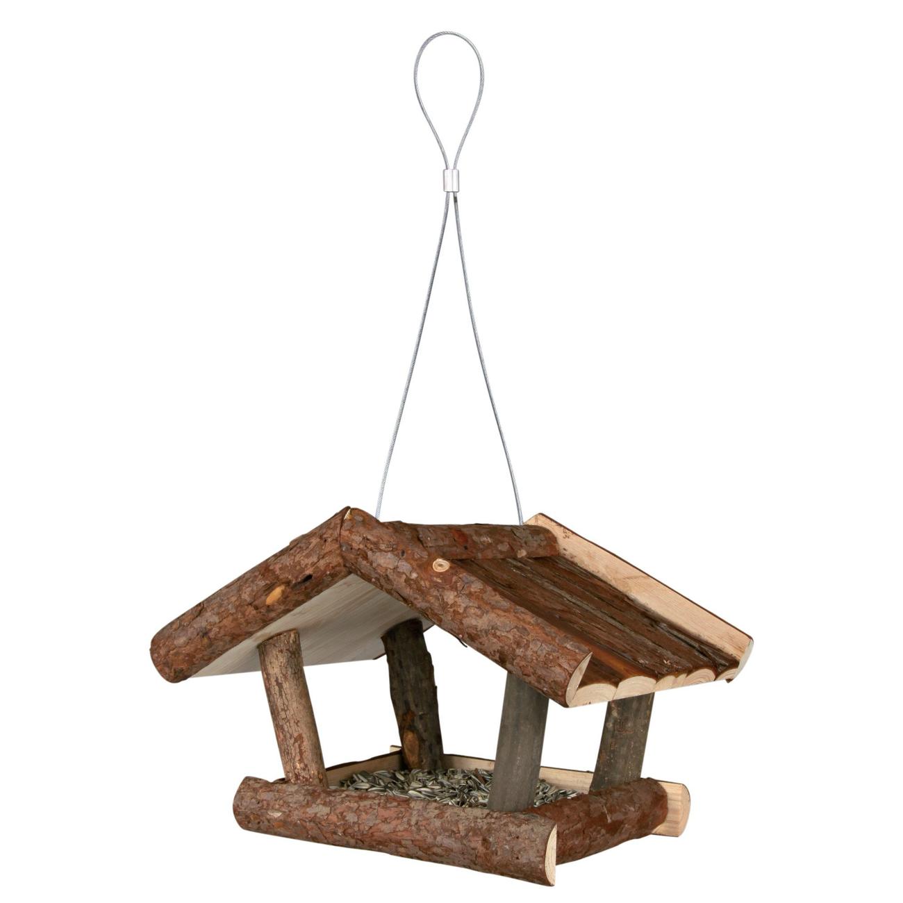Trixie Vogelhaus aus Naturholz Futterhaus 5567