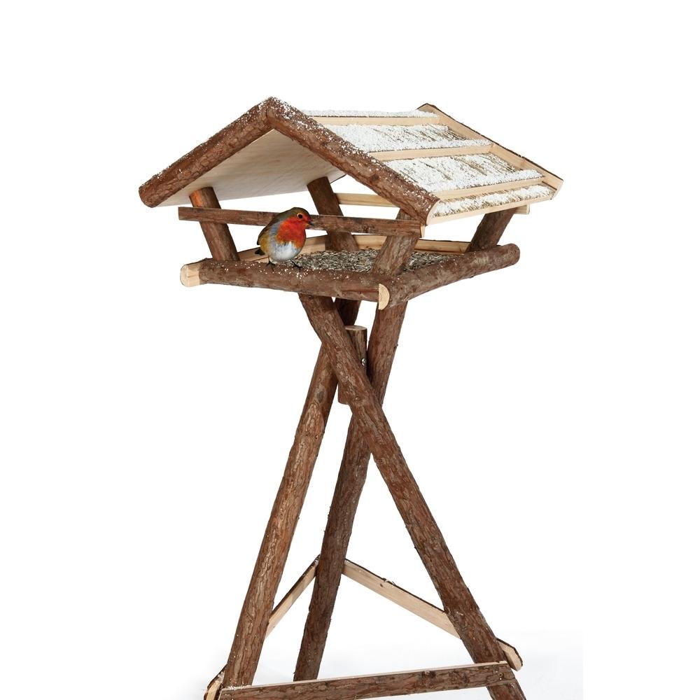 Trixie Vogelhaus Naturholz mit Ständer 55665