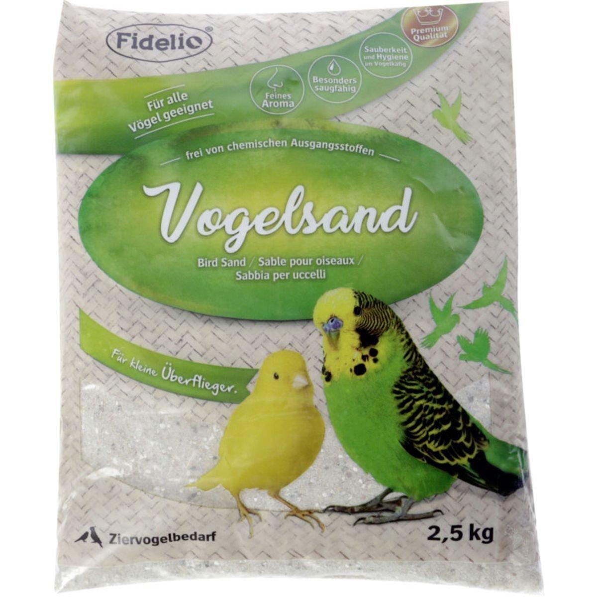 Kerbl Vogelsand, 2,5 kg, mit Kalk und Anis
