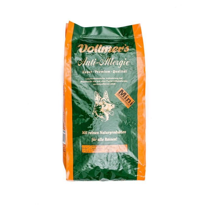 Vollmers Anti-Allergie Mini Hundefutter, 5 kg