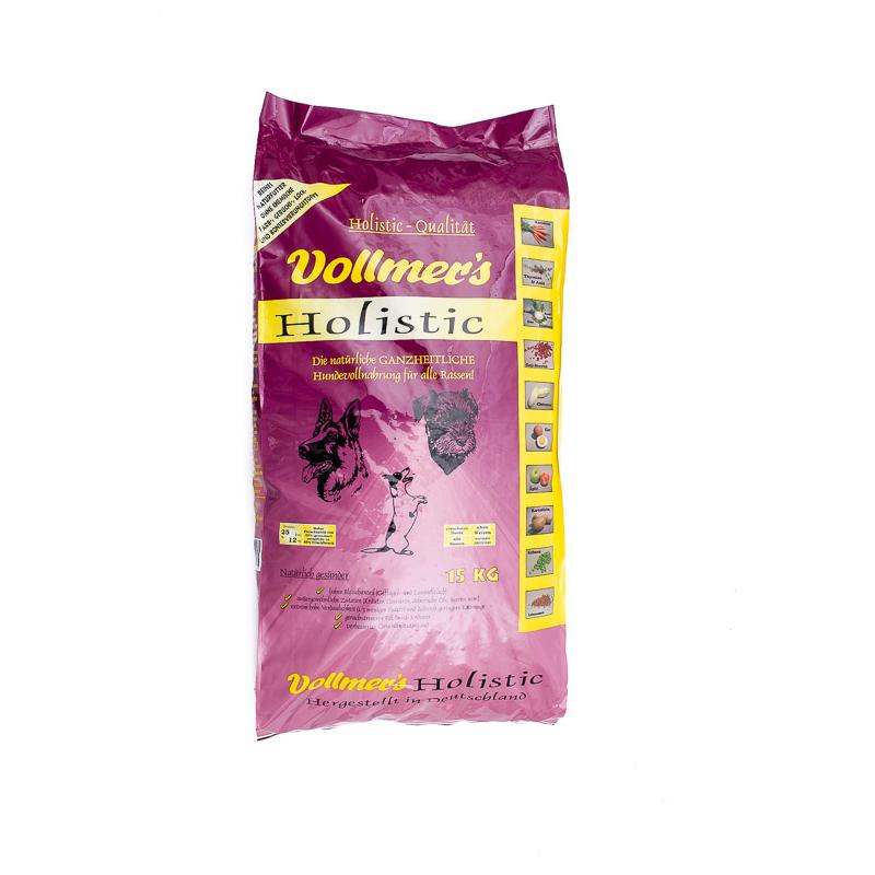 Vollmers Holistic Hundefutter, 15 kg