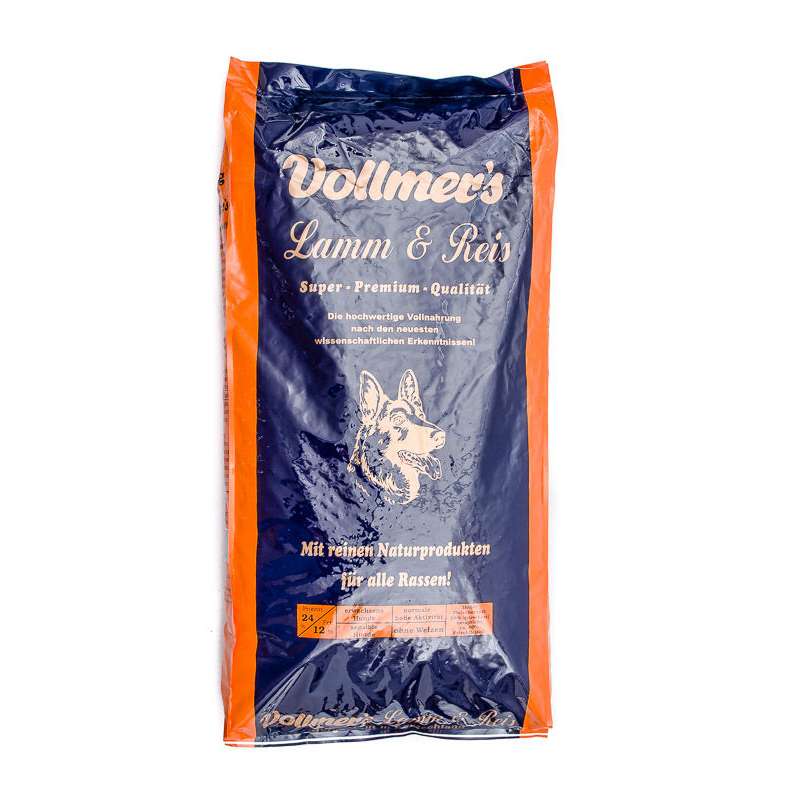 Vollmers Lamm & Reis Hundefutter, 15 kg