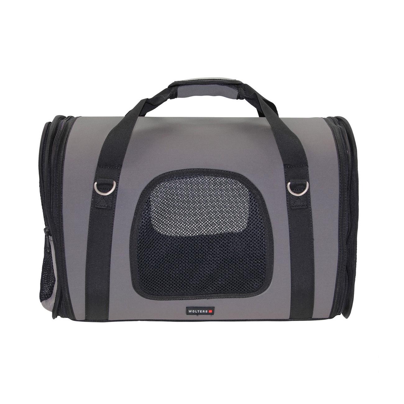 Wolters Hundetragetasche Sport-Carrier Grey Essentials