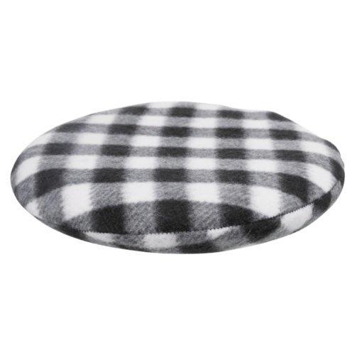 Trixie Wärmekissen für Mikrowelle, ø 21 cm, schwarz/weiß