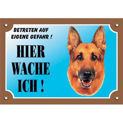 Nobby Warntafel Hund, Deutscher Schäferhund 3