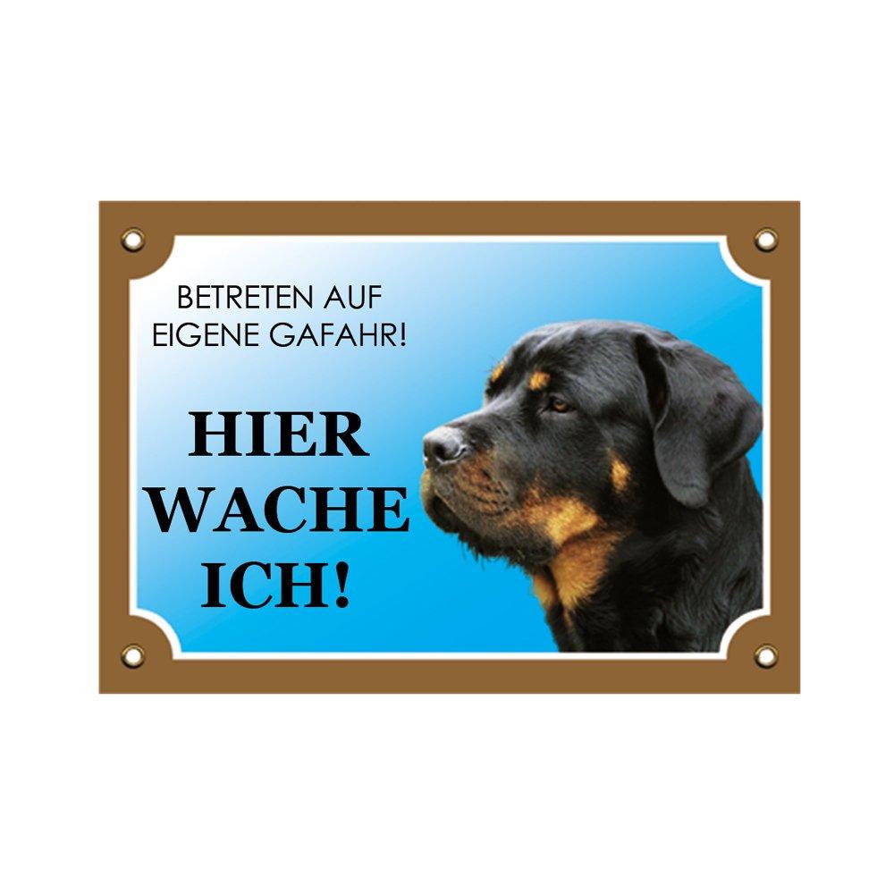 Nobby Warntafel Hund, Rottweiler