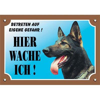 Nobby Warntafel Hund, Deutscher Schäferhund 2