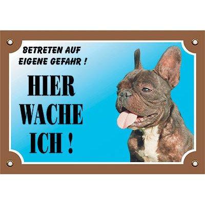 Nobby Warntafel Hund, Französische Bulldogge