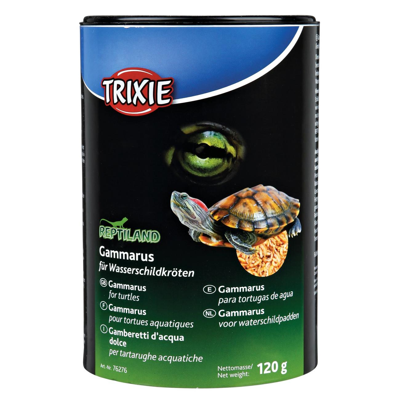 Trixie Wasserschildkrötenfutter Gammarus, 120 g/1000 ml