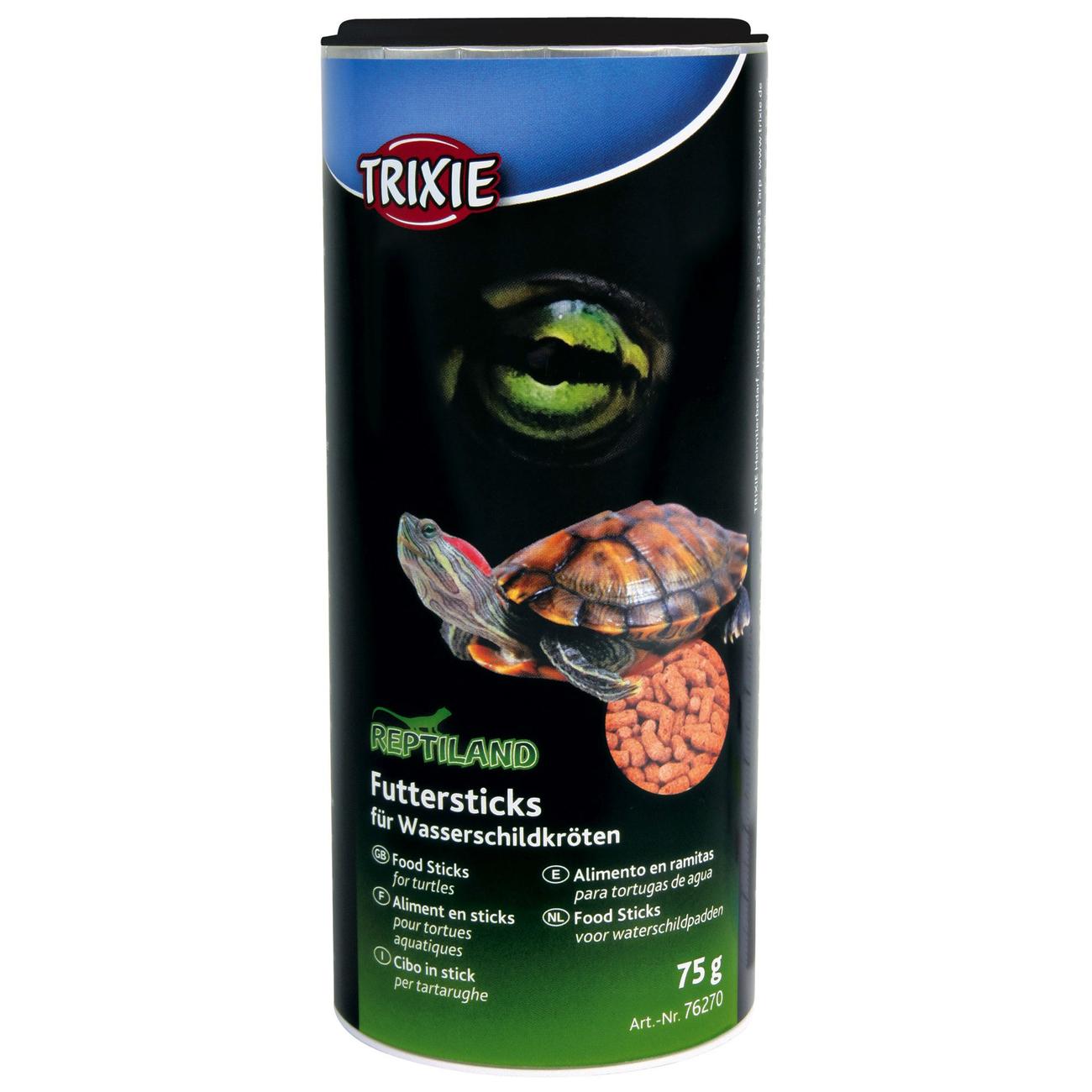 Trixie Wasserschildkrötenfutter, Sticks, 75 g/250 ml