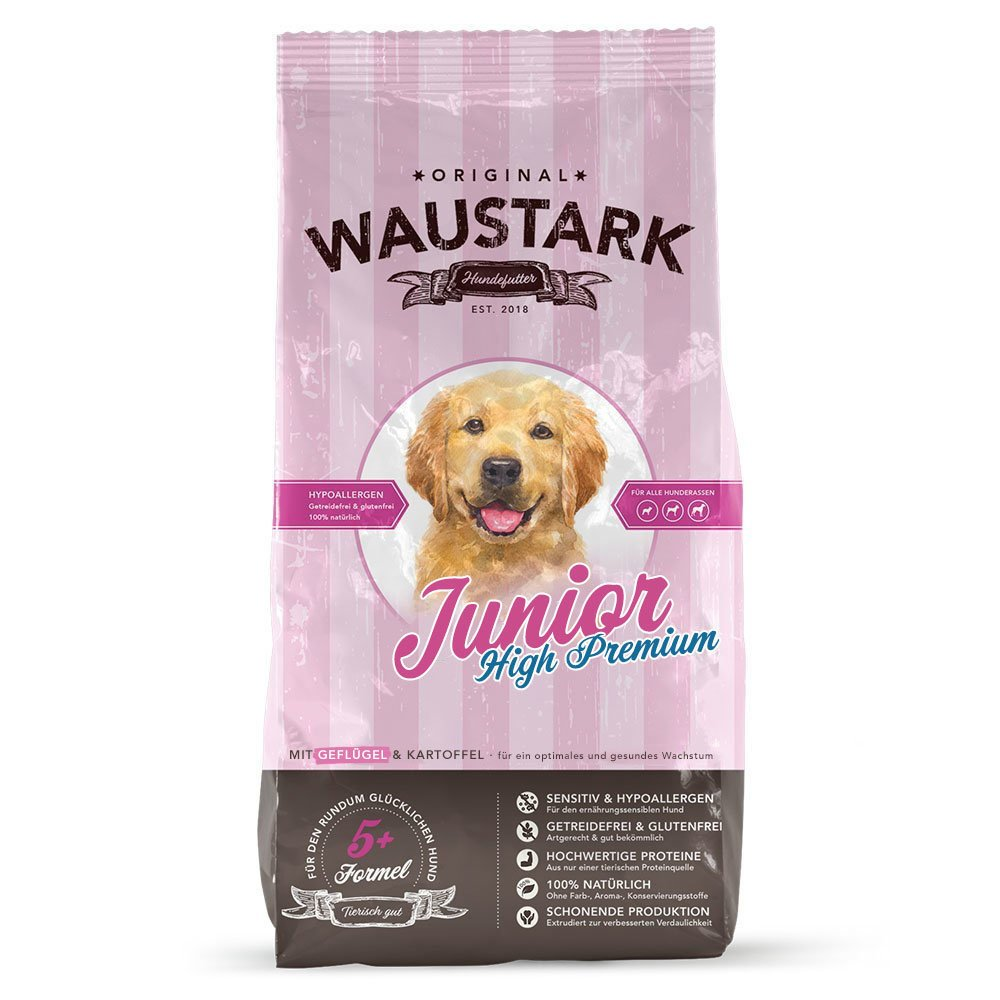 Waustark Junior High Premium Hundefutter