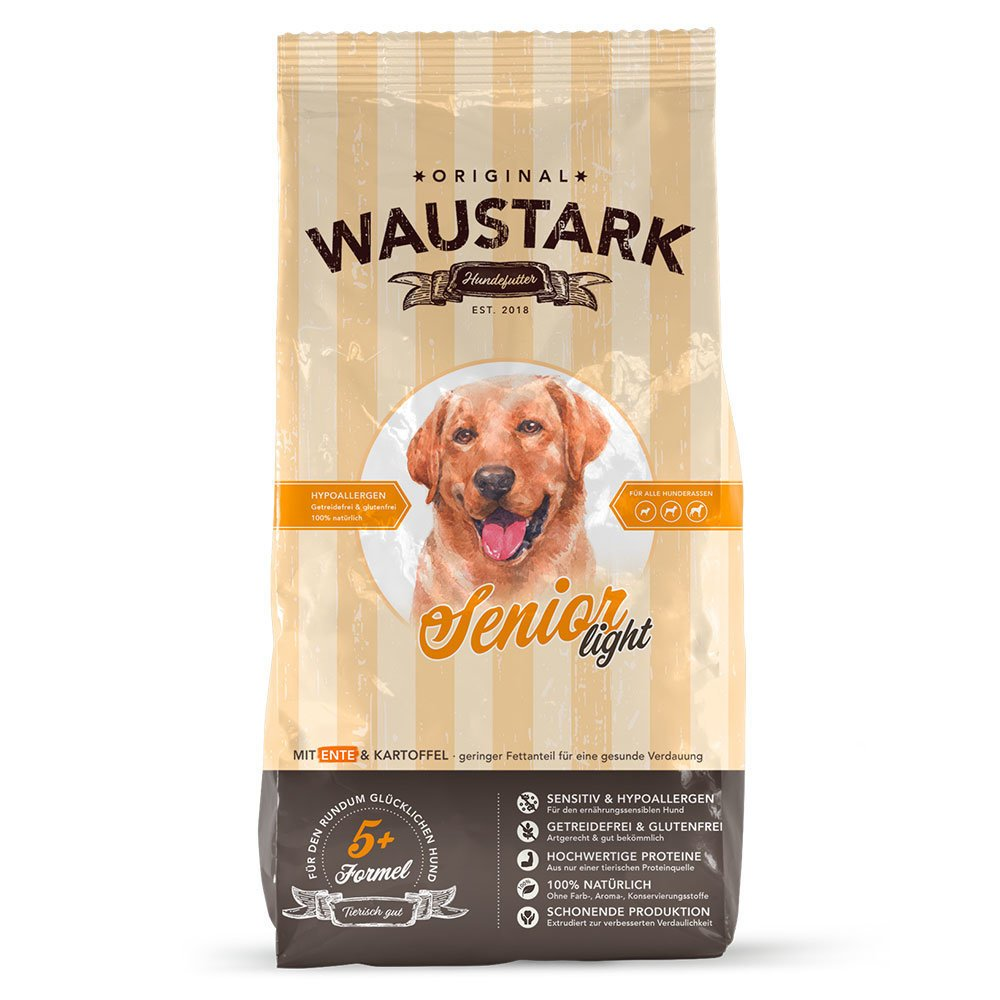 Waustark Senior Light Hundefutter