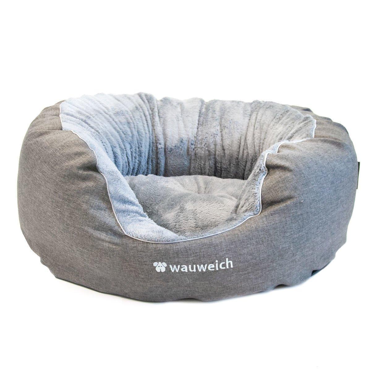 Das Beruhigende - Hundebett mit Plüsch Bild 1