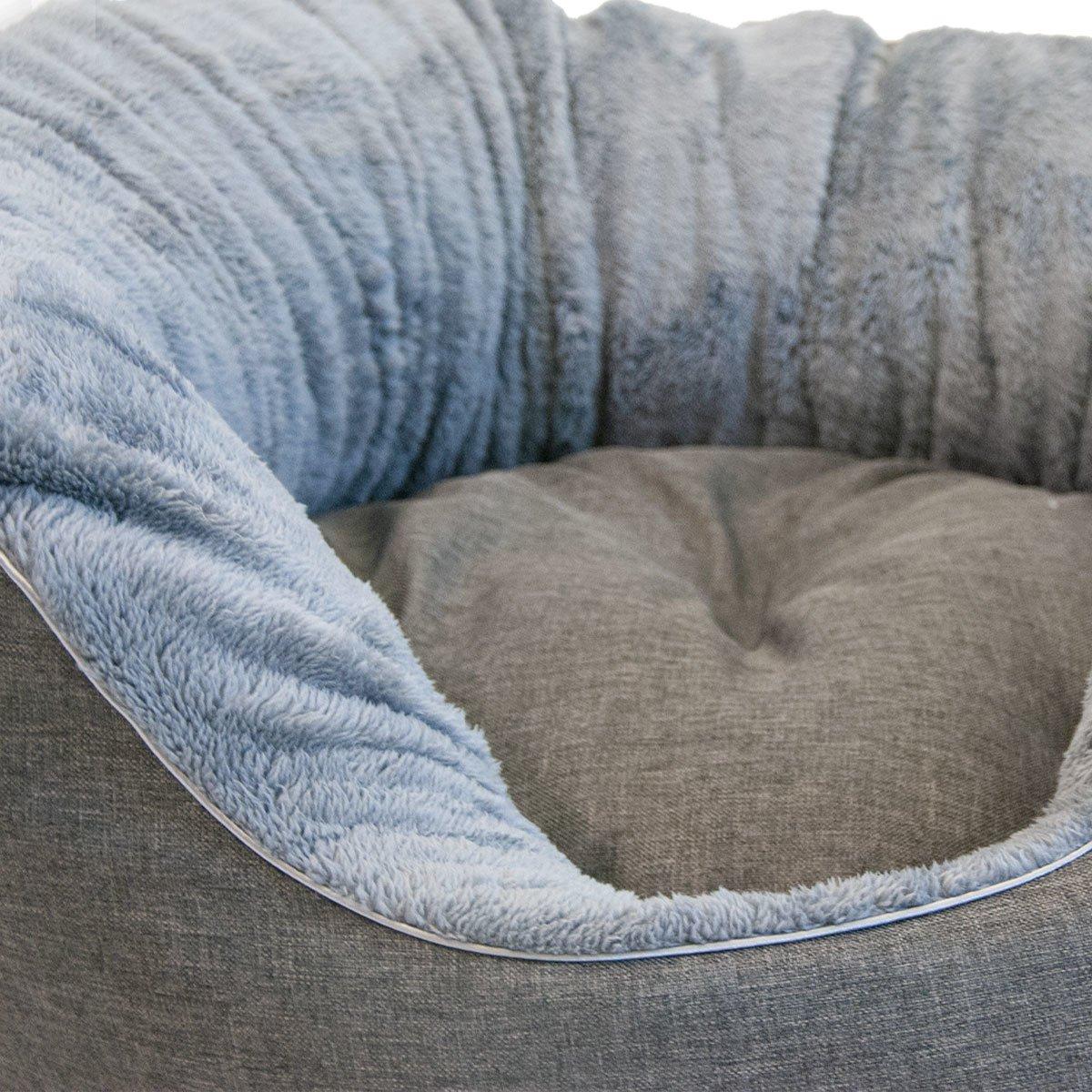 Das Beruhigende - Hundebett mit Plüsch Bild 6