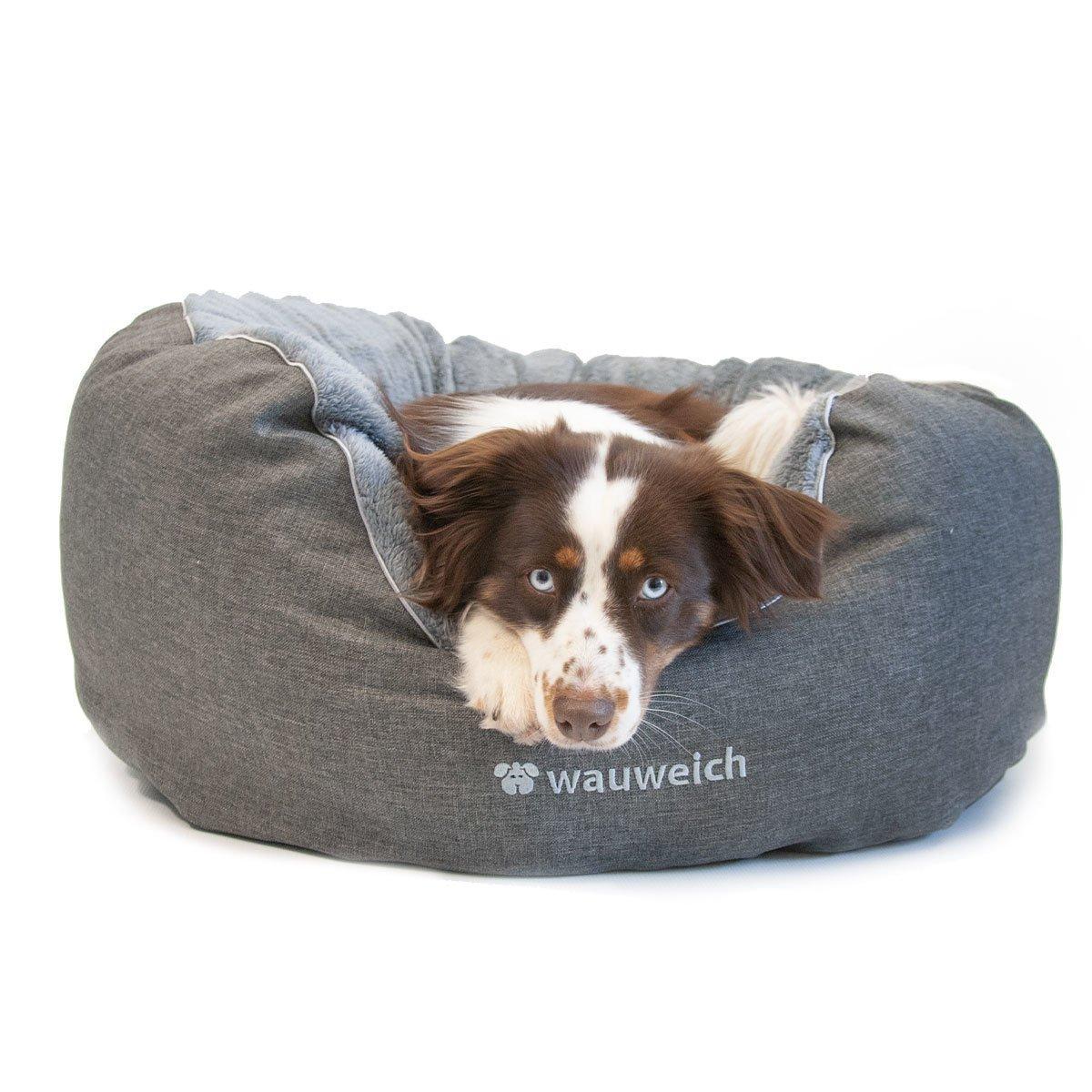 Das Beruhigende - Hundebett mit Plüsch Bild 3