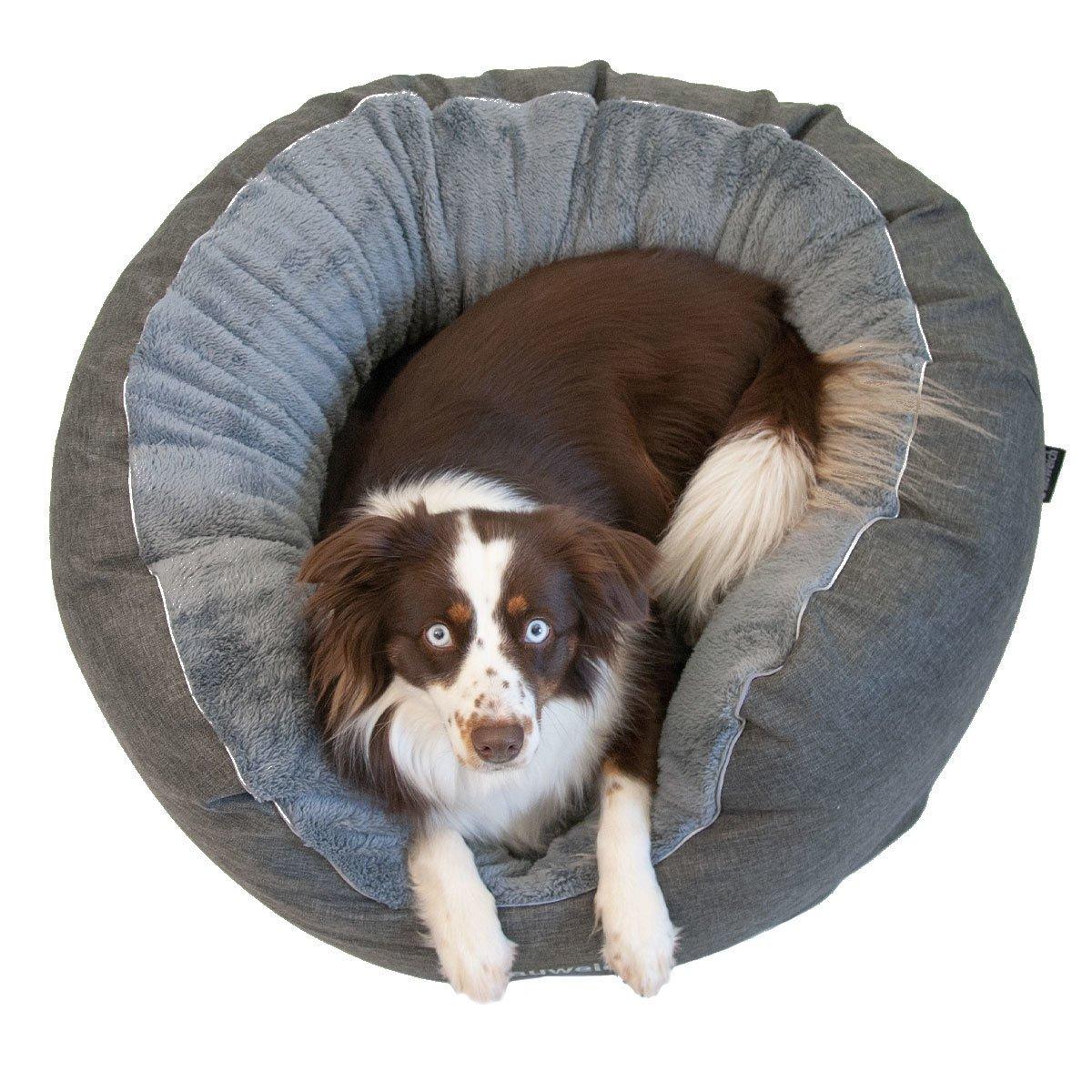 Das Beruhigende - Hundebett mit Plüsch Bild 2