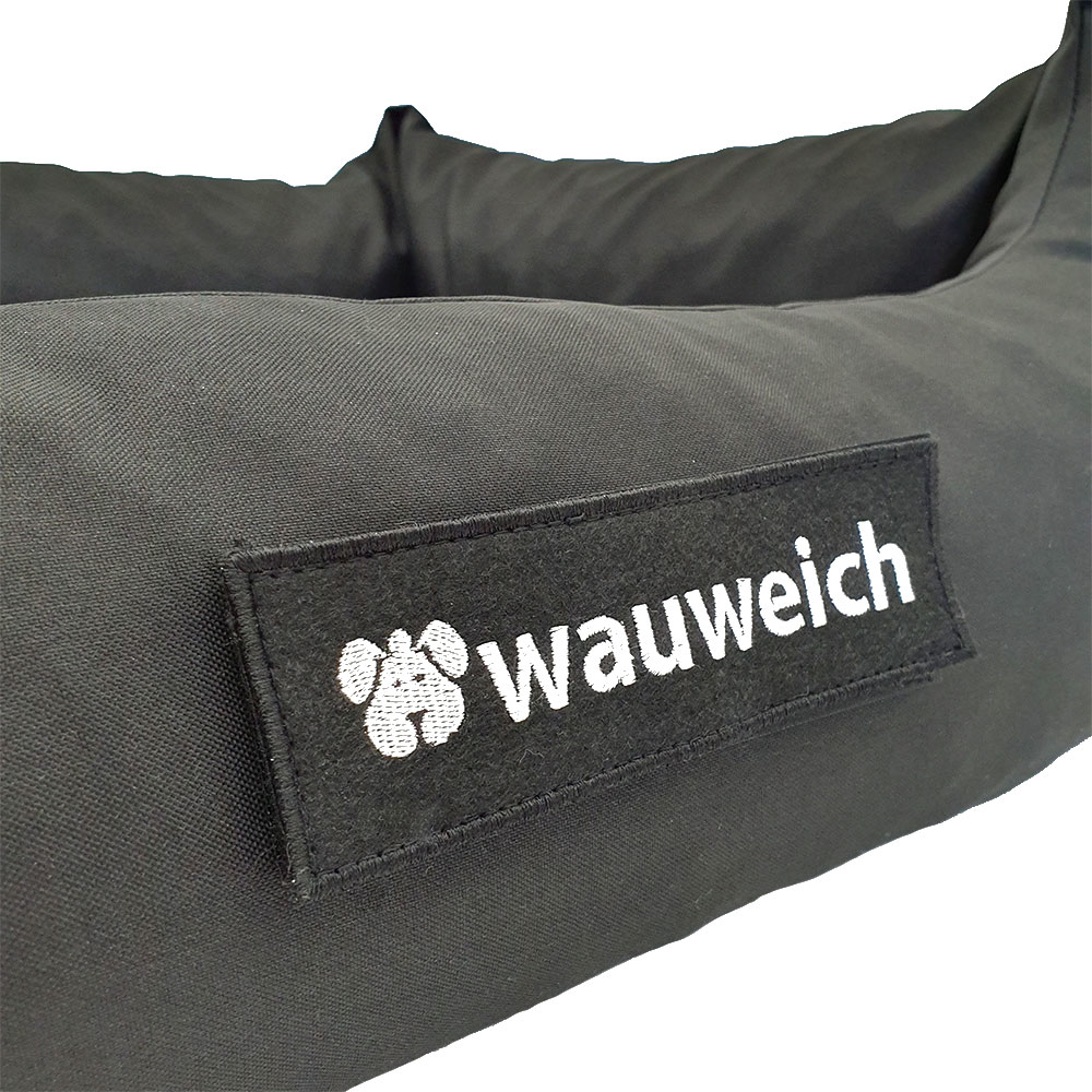 wauweich Hundebett mit Klettlogo, Bild 7