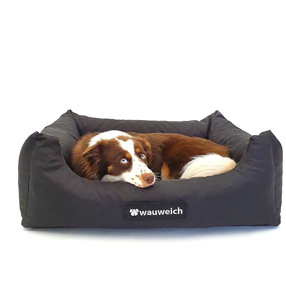wauweich Hundebett mit Klettlogo, Bild 4
