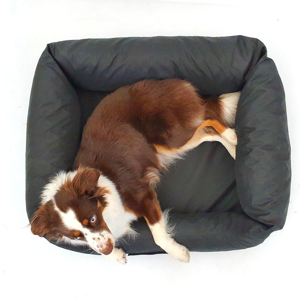 wauweich Hundebett mit Klettlogo, Bild 6