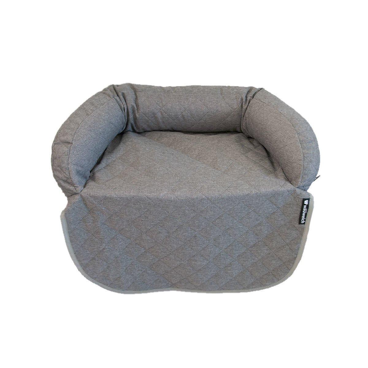 wauweich Sofa Hundebett Hundedecke, 80x66 cm, grau