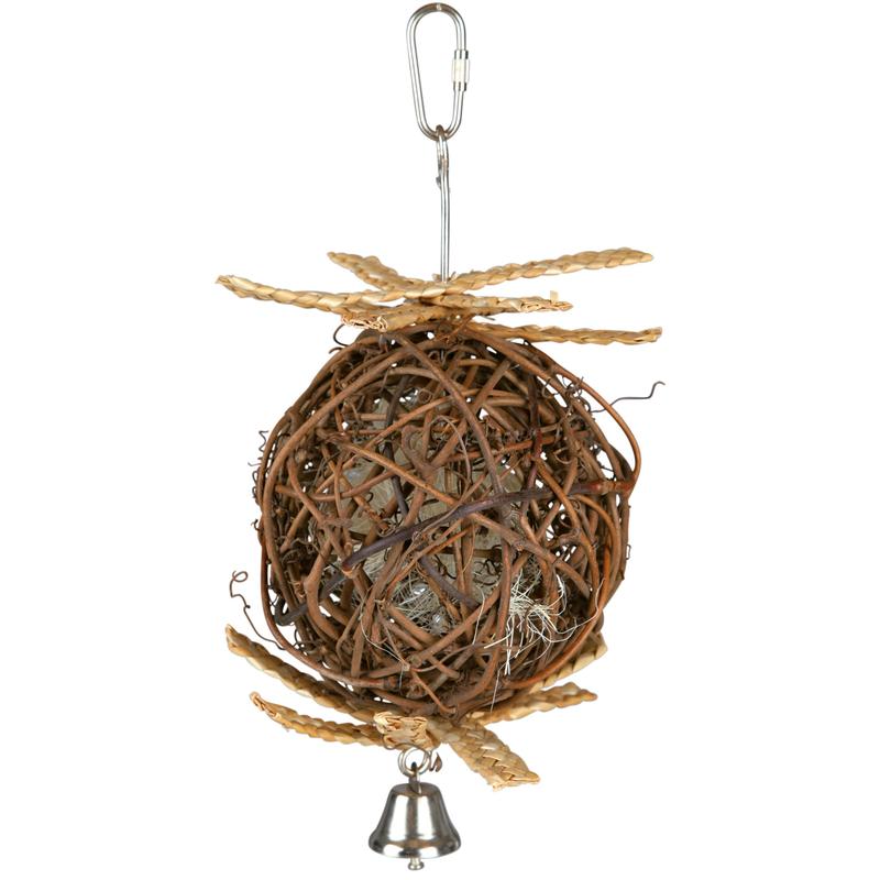 TRIXIE Weidenball Nistkugel für Vögel 58965, Bild 2