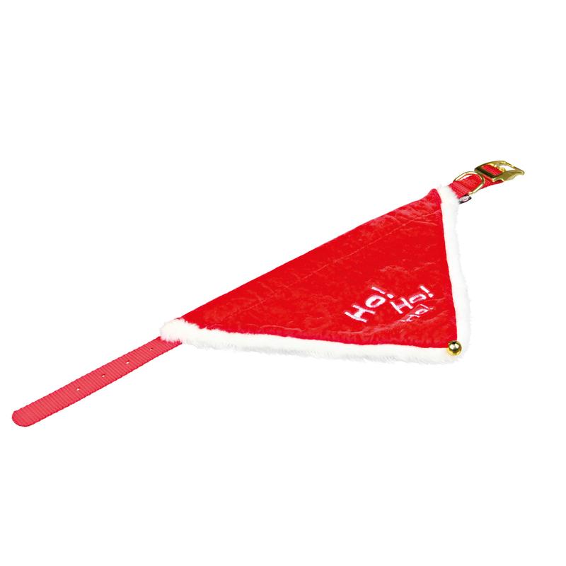 Trixie Weihnachts-Halsband mit Halstuch für Hunde und Katzen 92330