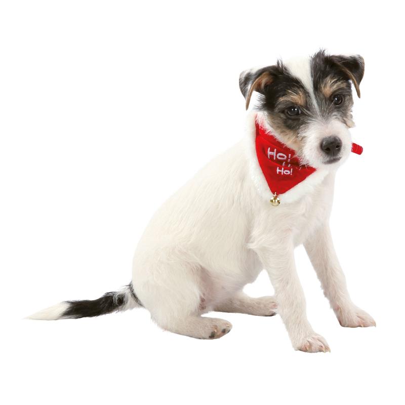Trixie Weihnachts-Halsband mit Halstuch für Hunde und Katzen 92330, Bild 2