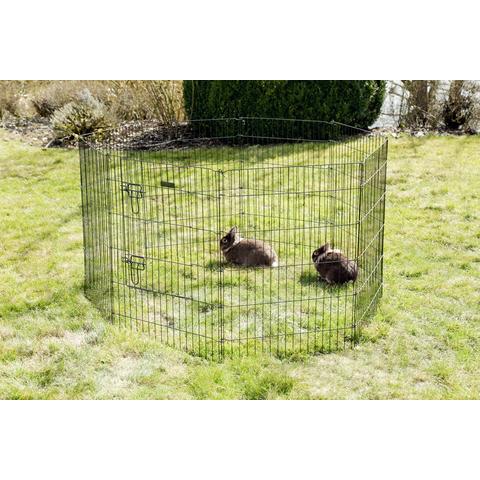 Kerbl Welpen- und Kleintiergehege mit 8 Gitter und Tür, Bild 2