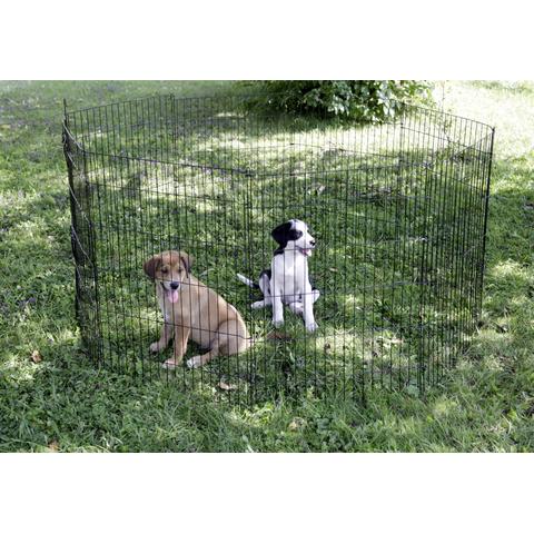 Kerbl Welpen- und Kleintiergehege mit 8 Gitter und Tür, Bild 4