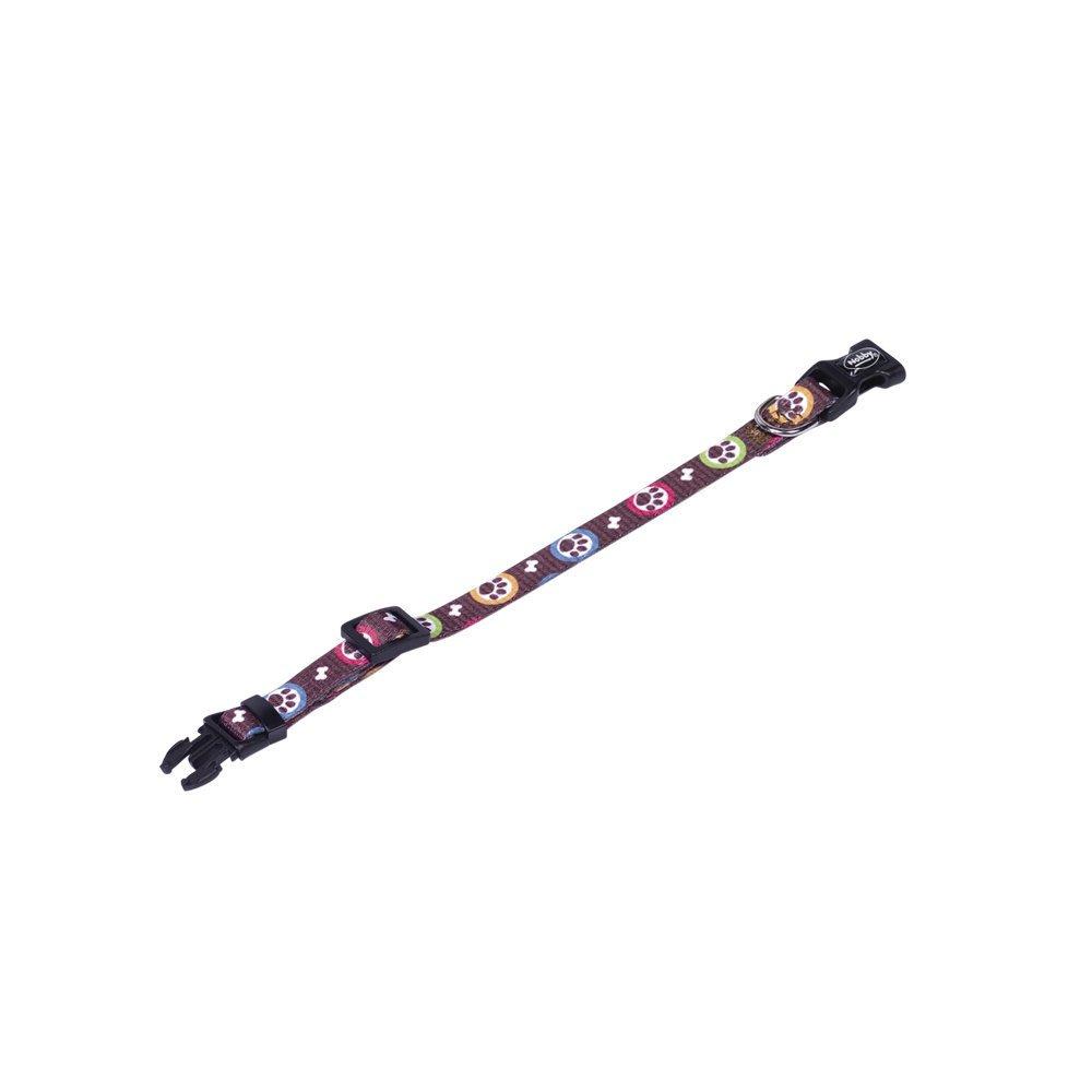 Nobby Welpenhalsband Paw, XXS - XS: Länge 13-20 cm, Breite 10 mm