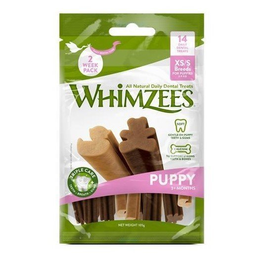 Whimzees Dog Snack Value Bag Puppy