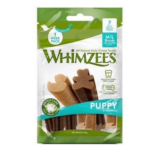 Whimzees Dog Snack Value Bag Puppy, Bild 2