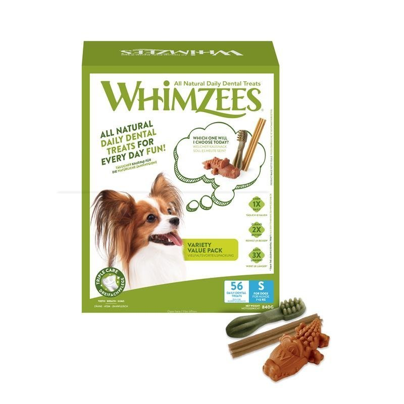 Whimzees Dog Snack Variety Value Box