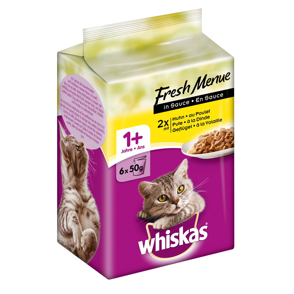 Whiskas Adult 1+ - Fresh Menue in Sauce