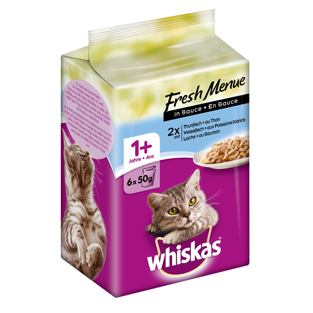 Whiskas Adult 1+ - Fresh Menue in Sauce, Bild 2